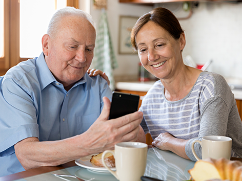 Our Omnicare app helps patients and their caregivers manage their medications.