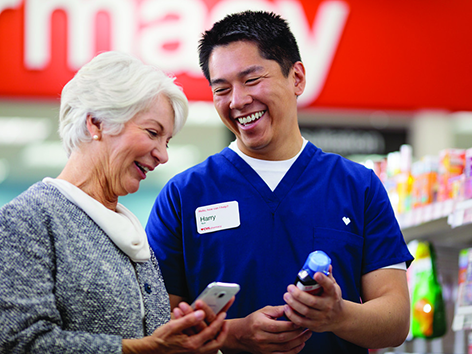 Our 9,800 retail pharmacies help people on their path to better health every day.