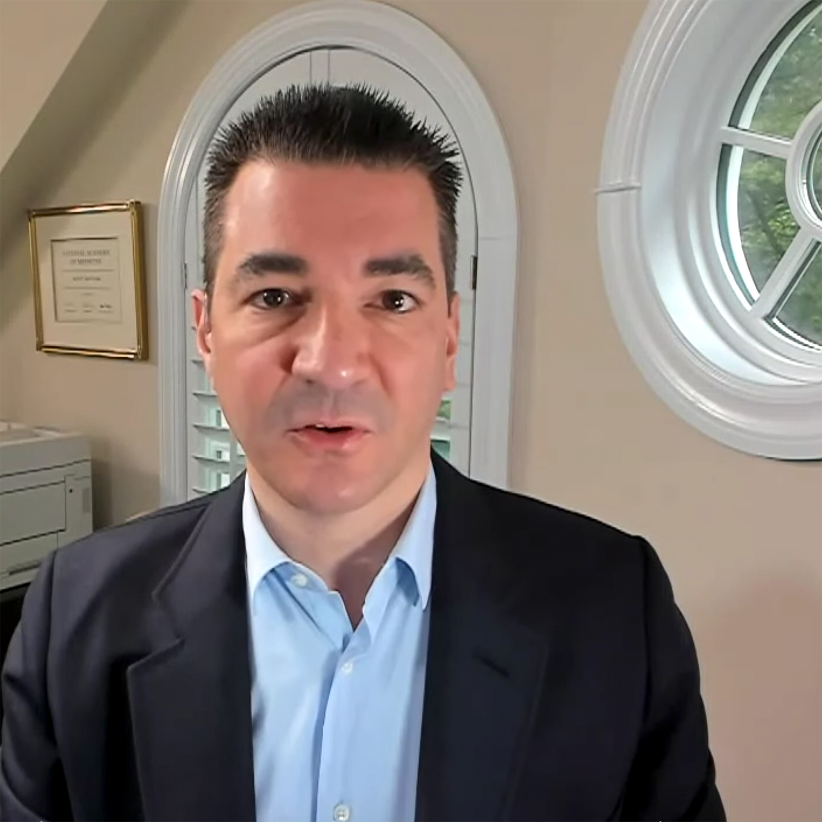 "Read the article, ""COVID-19: A look ahead with Dr. Scott Gottlieb""."