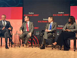 Expert panel at Forbes Healthcare Summit