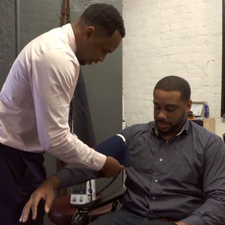"Watch and listen to the episode, ""Cutting hair and hypertension at Nashville barbershops""."