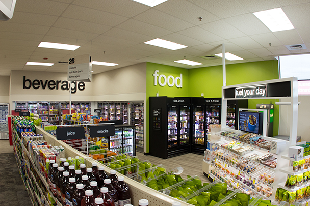 Health-focused CVS Pharmacy stores have 100 feet of new merchandise in health, beauty and healthier food.