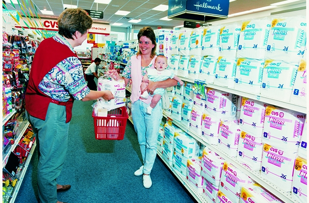 In the 1980s CVS Pharmacy celebrated 25 years and Caremark launched mail service pharmacy.