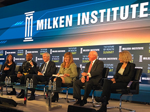 Milken Institute panel on the opioid epidemic