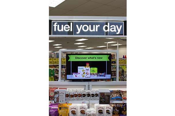 """Discovery Zones"" help customers make purposeful choices throughout the store."