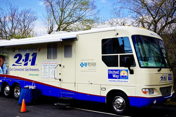 United Way of Rhode Island's 2-1-1 Outreach RV