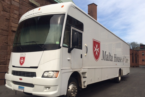 The Malta House of Care mobile clinic