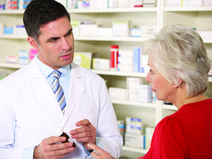 Pharmacists' frequent interactions with patients are an advantage in disease management.