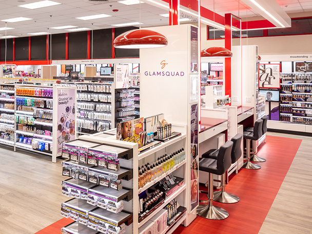 A CVS Pharmacy BeautyIRL concept shop
