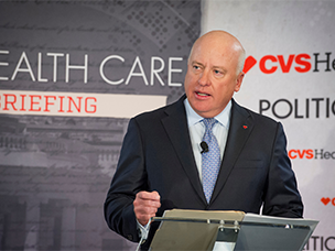 CVS Health's Tom Moriarty at Politico Pro Health Care Briefing