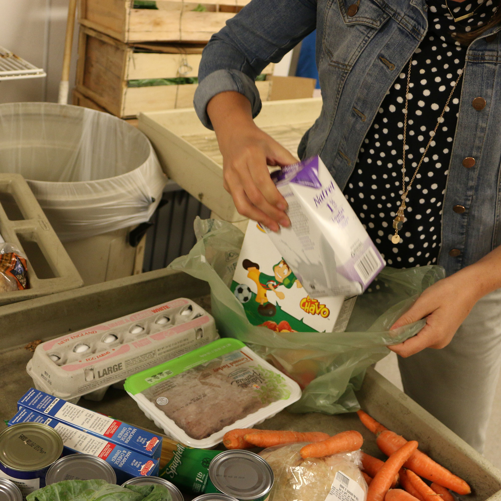 "Read the article, ""Providing access to food in Boston"""