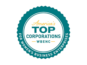 WBENC's America's Top Corporations for Women's Business Enterprises (WBEs) award logo