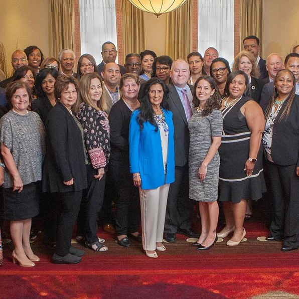 Some members of CVS Health's Supplier Diversity Team at the Billion Dollar Roundtable Summit in 2018.
