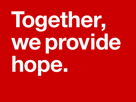Together we provide hope