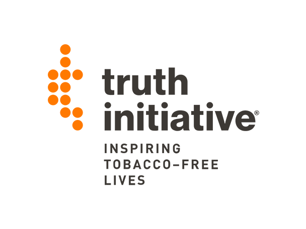 Truth initiative: inspiring tobacco-free lives logo