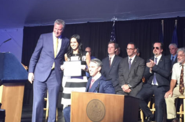 The CVS Health Workforce Initiatives team was recognized by the NYC mayor's Office for People With Disabilities.