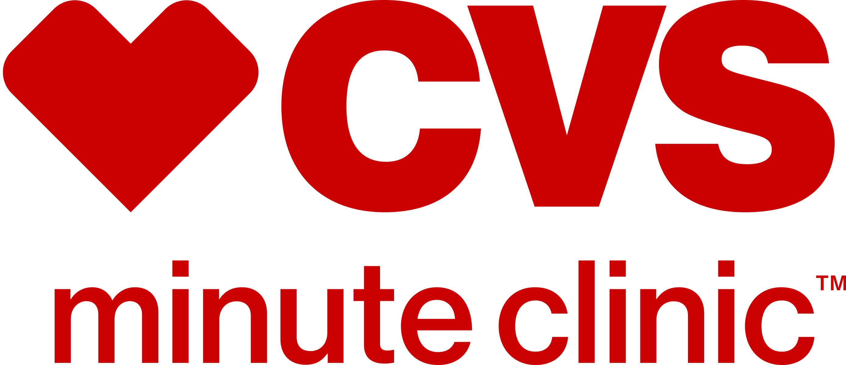 CVS MinuteClinic downloadable logo stacked