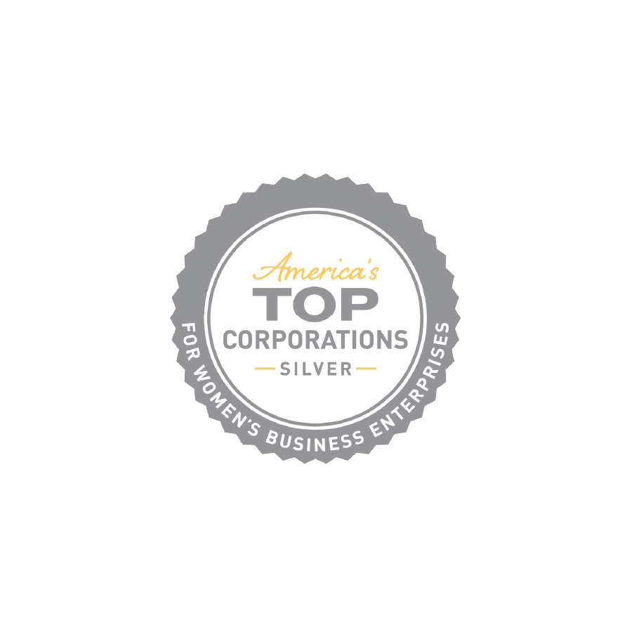Logo of Women's Business Enterprise National Council Top Corporations Silver Award