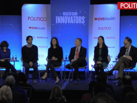 The panel of experts at the POLITICO event