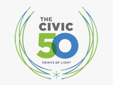 The Civic 50 logo